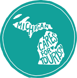 Michigan Cares for Tourism Logo